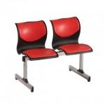 صندلی انتظار دو نفره کد 202L + صندلی + انتظار + بنیزان